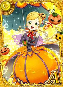 かぼちゃ少女 タバサ