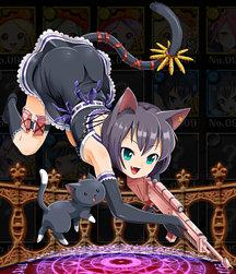 猫スナイパー ジル 全体像