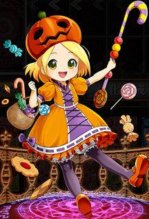 お菓子の妖精 プフ 全体像