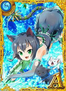 漆黒の猫スナイパー ジル