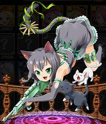 漆黒の猫スナイパー ジル 全体像