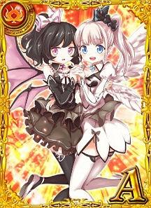 天使と悪魔 ミミ&ララ 黒猫のウィズ